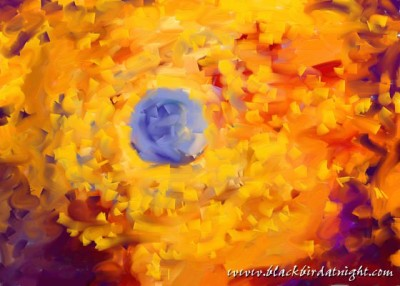 Blue Rose © 2015 Jane Waterman